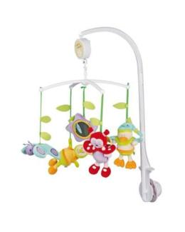 Mobile bébé musical jardin merveilleux