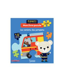 Livre puzzle Les camions de pompiers