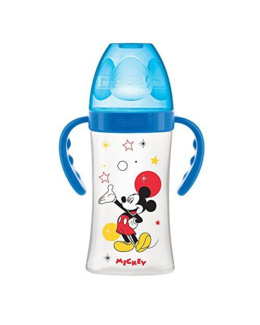 Biberon Initiation+ 270 ml avec Anses Mickey ou Minnie