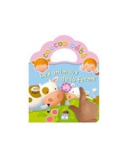 Livre Coucou Bébé - Les animaux de la ferme