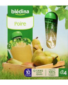 Gourde 100% Fruit - Poire (x4)