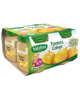 Pot Pommes Coings 4x130g