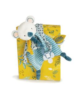 Doudou attache-sucette Yoca le koala