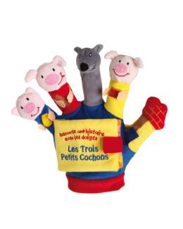 Livre gant les trois petits cochons