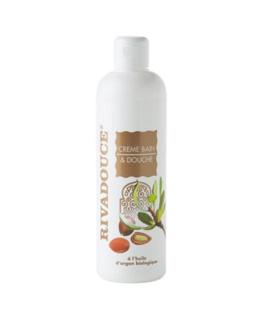 Crème Bain et douche à l'huile d'argan biologique