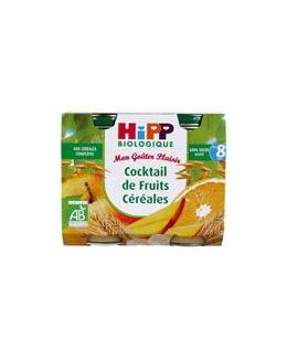 Cocktail de Fruits Céréales 190 g dès 8 mois