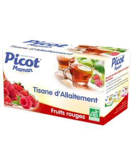 Tisane d'allaitement fruits rouges