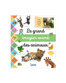 Livre Le grand imagier animé des animaux