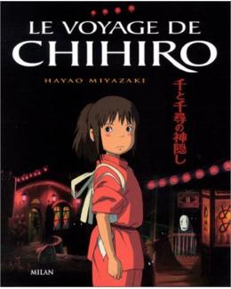 Livre Le Voyage de Chihiro