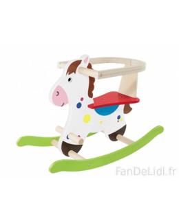 Cheval à bascule en bois Playtive
