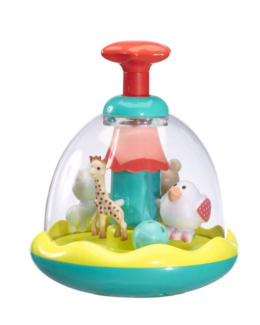 Toupie Swing Folie Sophie la girafe
