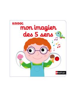 Livre Mon imagier des 5 sens - Kididoc