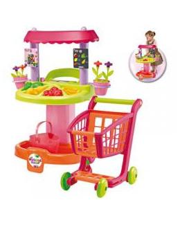 Cuisine marchande et chariot