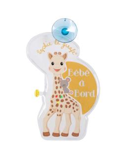 Bébé à bord Flash Sophie la girafe
