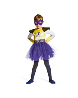 Déguisement Super-vilain fille 3-5 ans by Imagibul