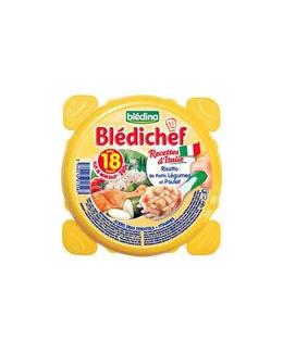 BLEDICHEF Risotto de petits légumes et poulet 260 g dès 18 mois