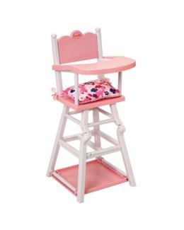 Chaise haute pour poupon Corolle