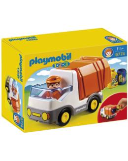 Playmobil 1.2.3 - Le camion poubelle