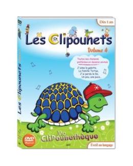 DVD Les Clipounets Volume 4