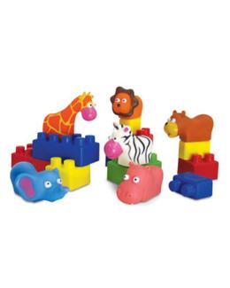 Edubriques d'animaux multicolores