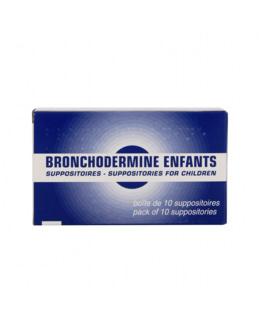 Suppositoires Bronchodermine Enfant