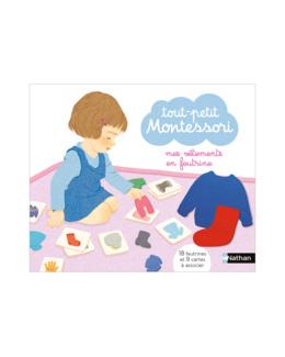 Coffret Tout-petit Montessori mes vêtements en feutrine