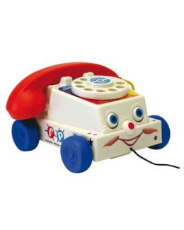 Téléphone à tirer rétro