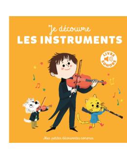 Livre Sonore Je découvre les instruments