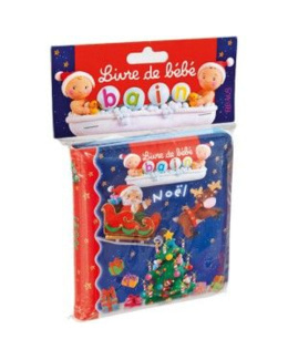 Livre de bain Noël - l'imagerie des bébés
