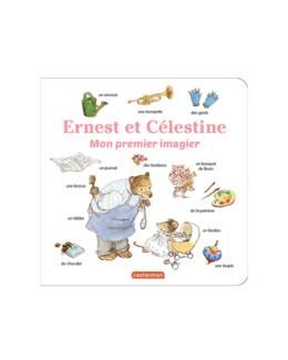 Livre Mon premier imagier Ernest et Célestine