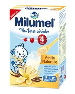Mes 1ères céréales infantile Milumel - Vanille naturelle