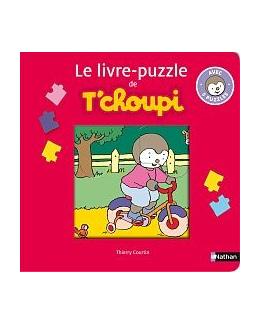 Le livre-puzzle T'choupi 3 pièces