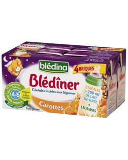 Blédîner - Briques Lait Carottes
