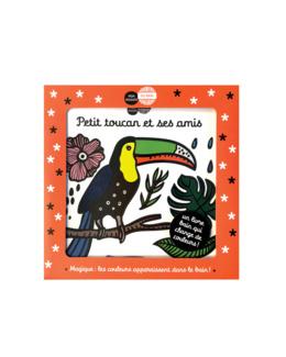 Livre bain Petit toucan et ses amis