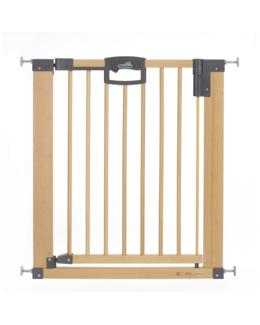 Barrière de sécurité Easy Lock Wood  87 - 96.5 CM Bois Métal