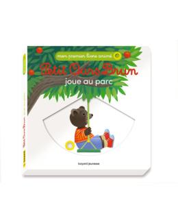 Livre Petit Ours Brun joue au parc