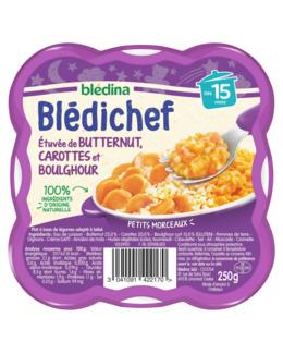 BLEDICHEF Etuvée de butternut, carottes et boulghour