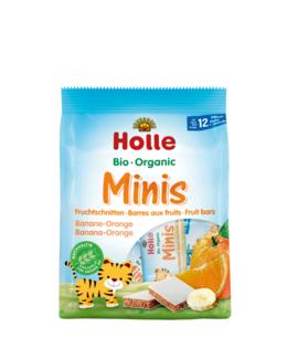 Bio Minis barre aux fruits banane-orange