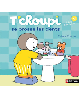 Livre T'Choupi se brosse les dents