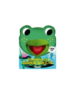 Livre La grenouille à grande bouche