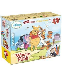 Puzzle géant 2 en 1 Winnie L'ourson