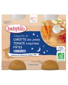 Bonne Nuit Carotte des Landes Tomate d'Aquitaine Pâtes