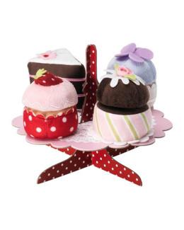 Plat et cupcakes Grattis