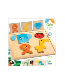 Premier jeu magnétique de formes et couleurs GeoBasic