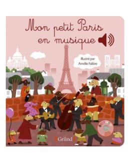 Livre Mon petit Paris en musique