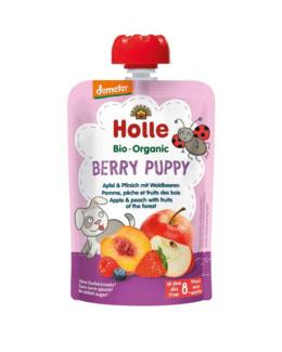 Berry Puppy - Gourde pomme, pêche et fruits des bois