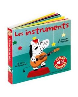Livre sonore imagier Les instruments