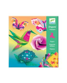 Pochette Origami Tropiques