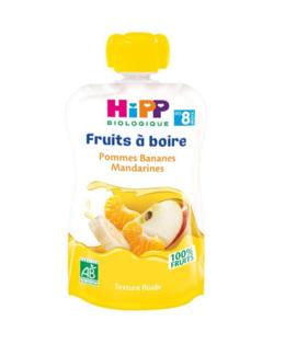 Gourde Pommes Bananes Mandarines - dès 8 mois