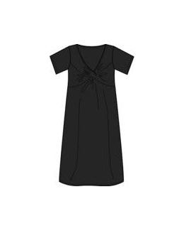 Robe manche courte noire Future Maman